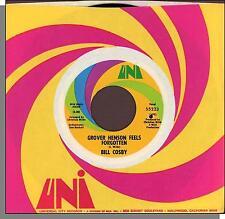 "Bill Cosby - Grover Henson Feels Forgotten + Instrumental - 7"" 45 RPM Single!"