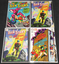DC Silver-Bronze Age TEEN TITANS 14pc Low-Mid Grade Comic Lot (GD to FN+) Robin