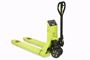 Hand Pallet Truck With Scales European Made 2000KG 1185 x 555 Pramac