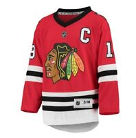 Jonathan Toews Chicago Blackhawks Youth Red Home Replica Player Jersey