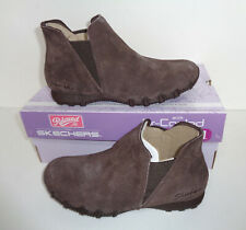 Skechers New Ladies Cocolate Memory Foam Suede Boots Shoes RRP £65 UK Sizes 2-7