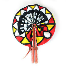 Afrocentric Print #1 African Traditional Folding Hand Fan