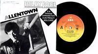 "BILLY JOEL - ALLENTOWN - 7"" 45 VINYL RECORD w PICT SLV - 1982"