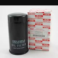 Isuzu DMAX oil filters engine D-MAX RODEO COMMONRAIL 2005-2011 GENUINE PARTS