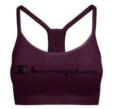 Champion Sports Bra The Sweatshirt Cami Script Logo Seamless Moderate Support