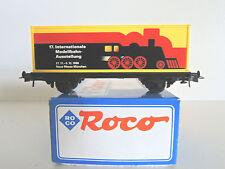 ROCO Containerwagen 17.Internationale Modellbahn-Ausstellung 27.11-5.12.1999