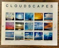 3878   Cloudscapes.    MInt 37¢ sheet of 15.   Issued in 2004.