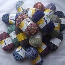 800g Sockenwolle Schachenmayr Regia Wollpaket Sockenwollpaket bunt gemischt NEU