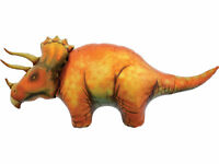 North Star Supershape Triceratops Balloon Dinosaur Birthday Party Decoration