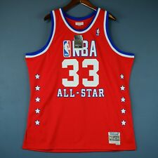 100% Authentic Patrick Ewing Mitchell Ness 89 All Star Swingman Jersey Size XL