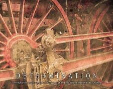 Railroad Train Motivational Poster Art Vintage Toys Model Trains Railway  MVP199