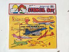 2 Sides Planes Stencil 26.5*18.5cm