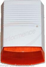 Alarm Anlage Attrappe / Dummy Außen Sirene mit blinkender LED / IP44