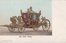POSTCARD  ROYALTY  The State Coach