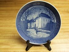 Vintage 1975 Royal Copenhagen Christmas Plate The Queens Christmas Residence