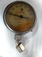 Vintage Antique Tire Air Pressure Gauge FU. S. Gauge Co. Steampunk 1920's