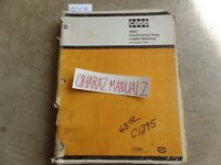 CASE 480 Construction King Loader Backhoe Parts Catalog Manual C1295