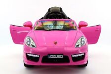 Kiddie Roadster 12V Kids Electric Ride-On Car with R/C Parental Remote | Pink
