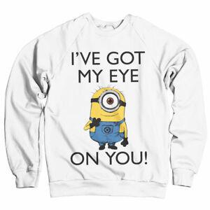 Officially Licensed Minions - I've Got My Eye On You Sweatshirt S-XXL Sizes