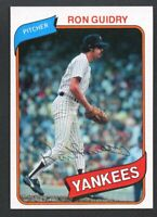1980 Topps #300 Ron Guidry Vintage Card~NM-MT~Yankees Pitcher