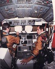 STS-1 Space Shuttle Kolumbien Cockpit 8x10 Silber Halogen Fotodruck