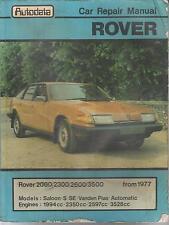 ROVER SD1 2000 2300 2600 & 3500 MANUAL AUTO ( 1977 - 1983 ) OWNERS REPAIR MANUAL