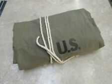 WW2 US Army Tent Shelter Half Khaki 1st Pattern 1942 Fraser Products Company