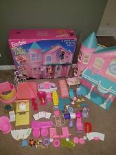 Barbie Victorian Dream House Mattel 1995 with Box and Tons of Accessories