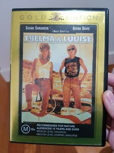 Thelma & Louise (DVD, 2005) GOLD EDITION Susan Sarandon LIKE NEW R4 DVD