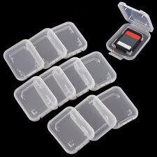 10 Stück SD Box Speicherkarte SDHC ETUI Schutzhülle Hülle Aufbewahrungsboxx Neu