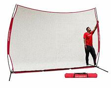 PowerNet 12' x 9' Sports Barrier Net 108 SqFt Protection Safety Backstop