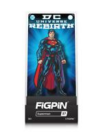 FiGPiN NEW * Superman * #37 Rebirth Enamel Pin w/Case DC Comics Justice League