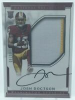 JOSH DOCTSON 2016 National Treasures Rookie Patch Auto RC On Card 9/99 REDSKINS