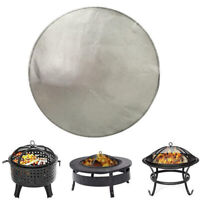 60-100cm Winter Stove Mat Fire Pit Pad Deck Protector Great Cushion Fireproof