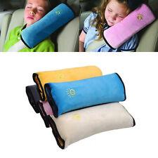 Child Kids Safe Car Seat Belt Pad Shoulder Sleep Pillow Cushion Baby Rest Supply
