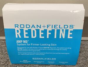 Rodan + Fields AMP MD System Roller Redefine Night Renewing Serum 60 Capsules