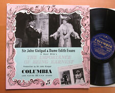 Oscar Wilde Importance Of Being Earnest John Gielgud Edith Evans RECORD ONE ONLY