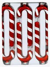 6 x Baumschmuck Zuckerstange je ca. 11 cm Christbaumschmuck Anhänger Weihnachten