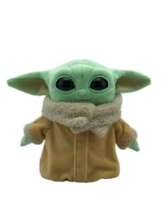 "Star Wars Mattel Mandalorian The Child 8"" Baby Yoda Grogu Plush"