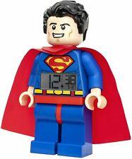 Lego DC Comics Superman Digital Alarm Clock