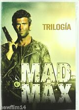 MAD MAX TRILOGIA DVD PACK COLECCION 1 2 3 NUEVO ( SIN ABRIR ) MEL GIBSON //