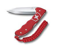 Victorinox Swiss Army Hunter Pro Alox Pocket Knife, Red