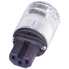 Wattgate 320i Clear IEC Power Connector