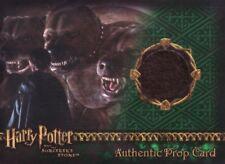 Harry Potter Sorcerers Sorcerer's Stone Fluffy's Fur Prop Card