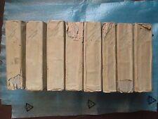 ANQUETIL : PRECIS DE L'HISTOIRE UNIVERSELLE, 1799. 8 volumes (sur 9).