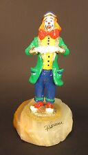 Vintage Ron Lee Clown with Hands Crossed Signed 2002