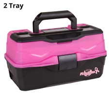 New Large Fishing Tackle Box With 3 Tray Full Travel Holder Pack vary color