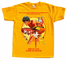 BRUCE LEE Game of death Ver. 1 Movie poster T SHIRT all sizes S to 5XL