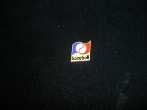 circa 1970's Balfour Red/White/Blue Baseball Pin