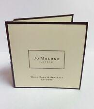 New Jo Malone London Wood Sage & Sea Salt Cologne Perfume Sample .05fl oz/1.5m